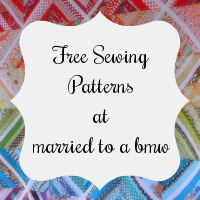 Free Sewing Patterns at married to a bmw