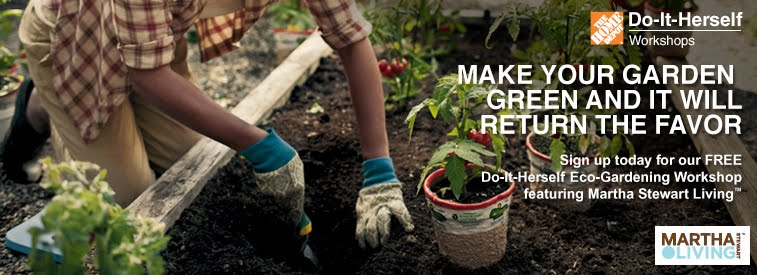 Free Eco Gardening Do It Herself Workshop At Home Depot